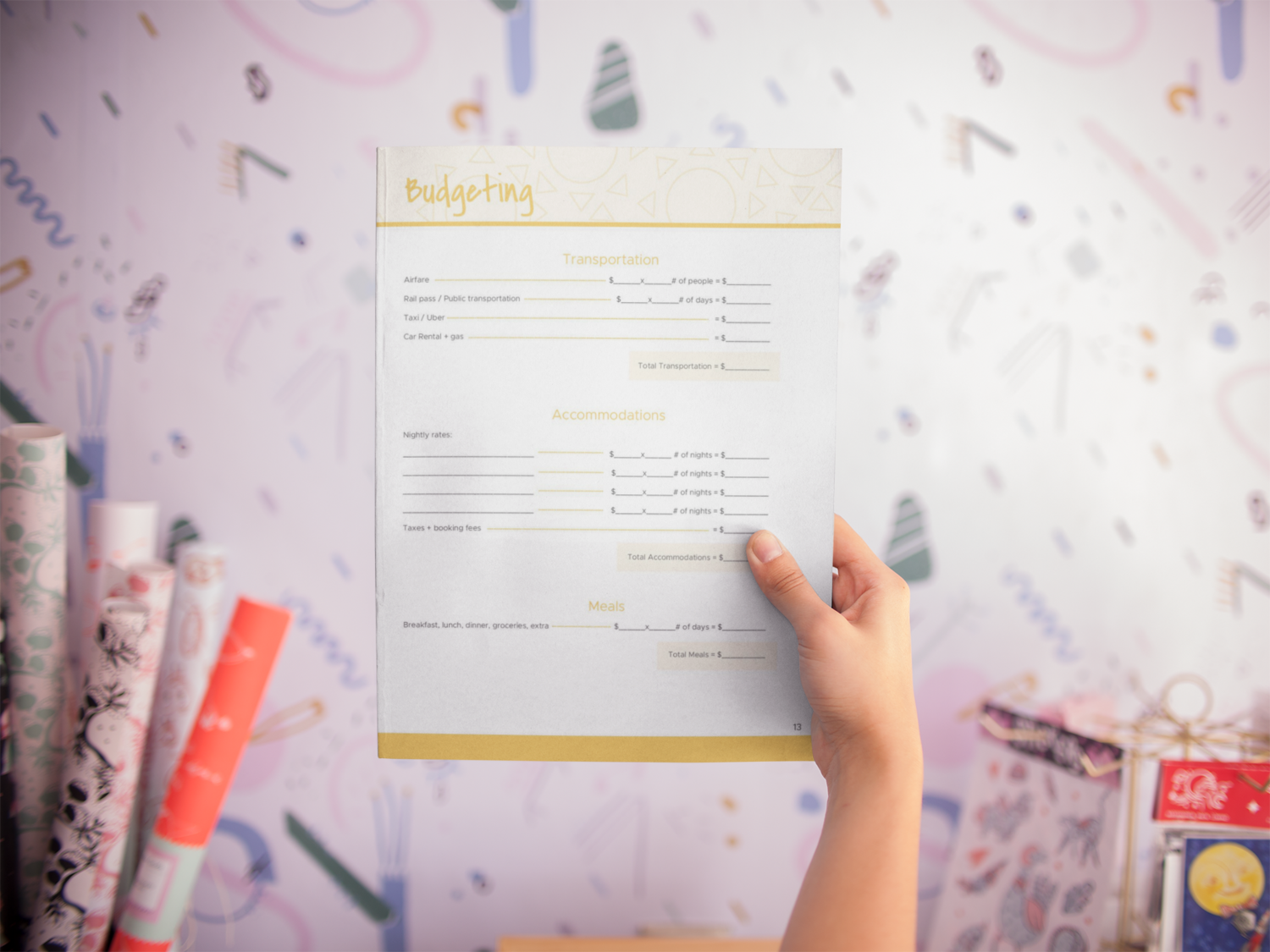Get Help Budgeting Your Next Vacation Grab This Worksheet