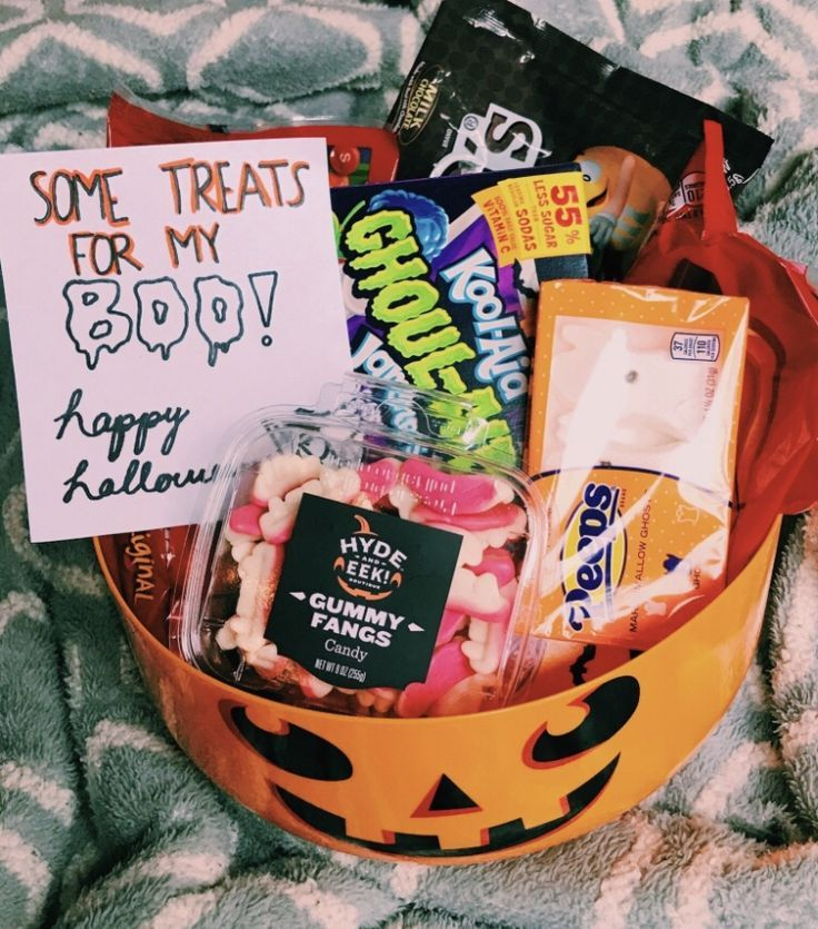 Halloween gift baskets for one year old