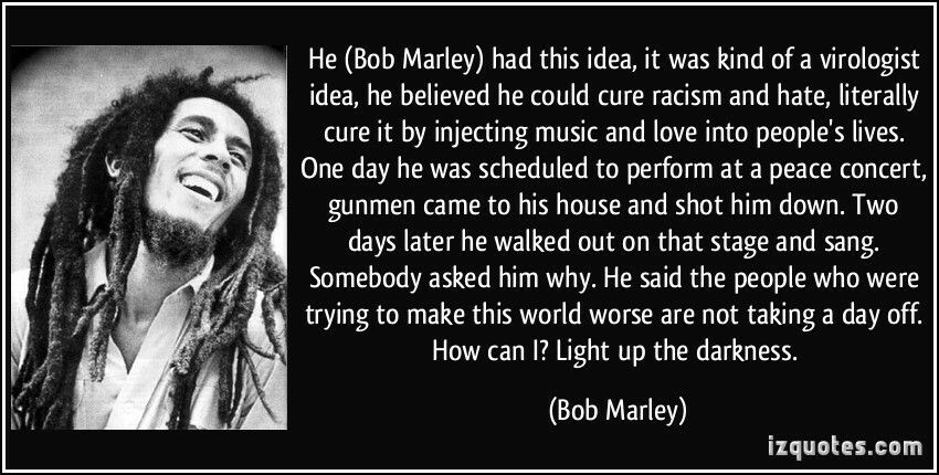 Light Up The Darkness Bob Marley I Am Legend Bob Marley