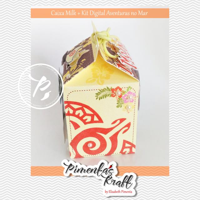 Moana Kit Digital Mar de Aventuras(inspirado no filme Moana by Elisabeth Pimenta
