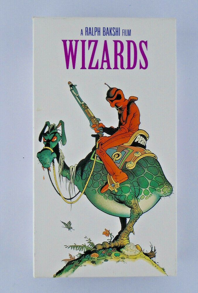 Wizards Ralph Bakshi 1977 VHS 2000 FOX vhs vhstapes