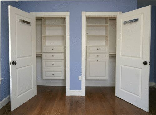 Small Closet Solutions | Closet Redefined - Reach-In Closets reach in closet save space & Small Closet Solutions | Closet Redefined - Reach-In Closets reach ...