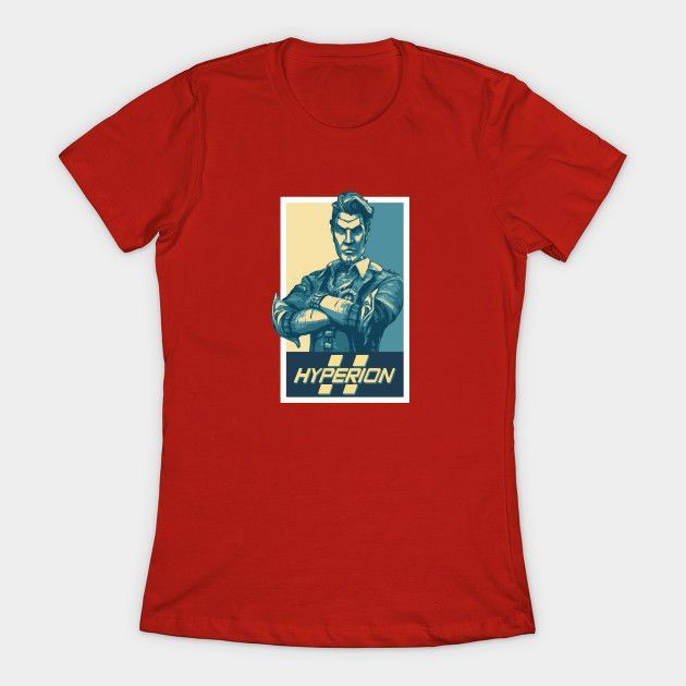 Vote For Handsome Jack Womens T-Shirt