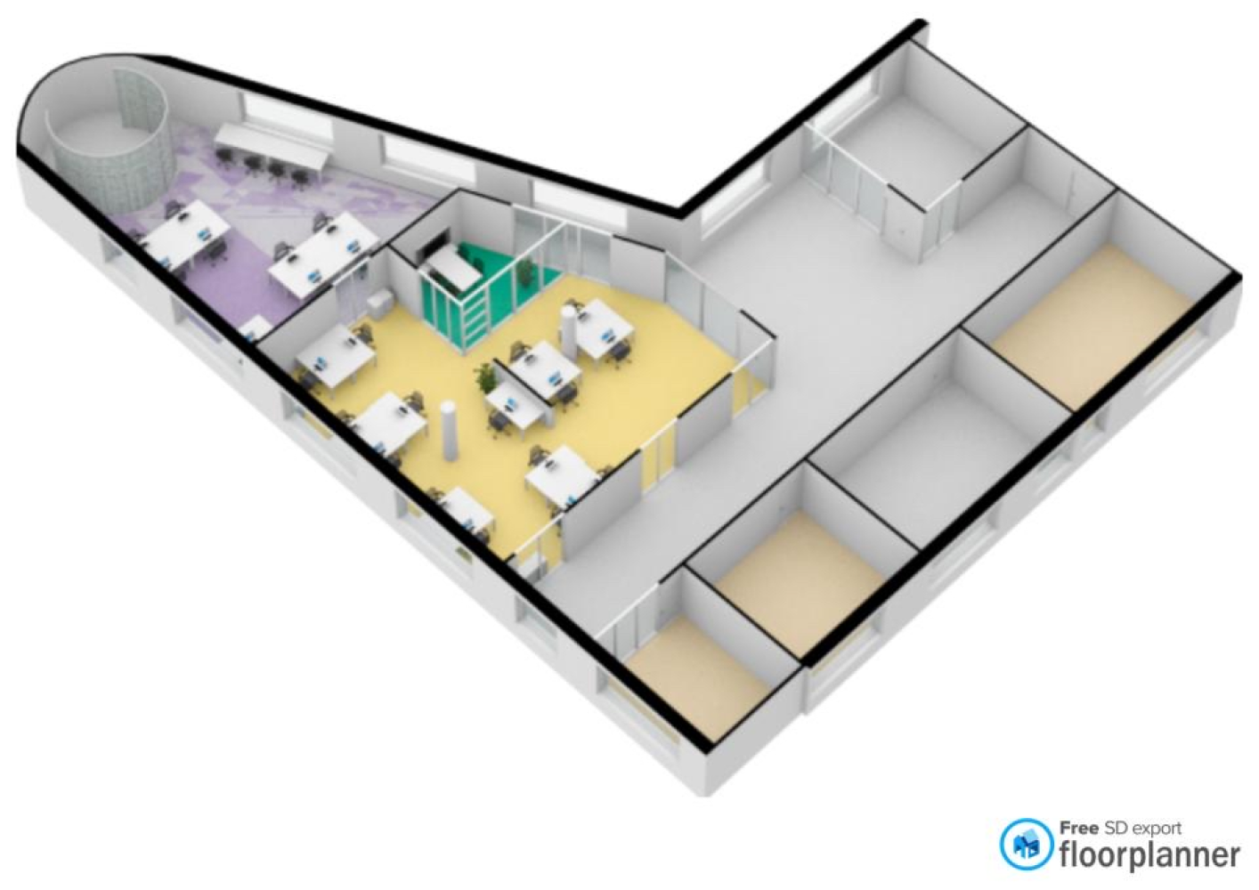 3d Render Made With Floorplanner Com Create Floor Plan Floor Plans Interior