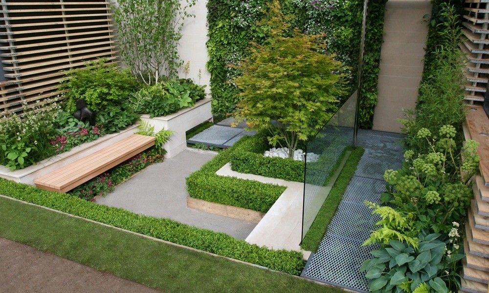 Garden Designs For Small Gardens Contemporary Garden Designs Ideas For Small Gardens  Landscaping .