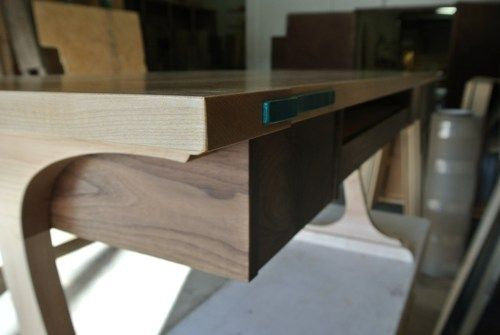 Computer Desk, Handmade Office Desk, Solid Wood Custom Desk ...