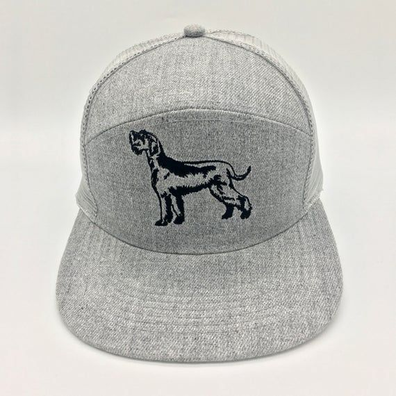 Embroidered Giant Schnauzer Jockey Trucker Baseball Summer Cap Hat. For German breed working dog own