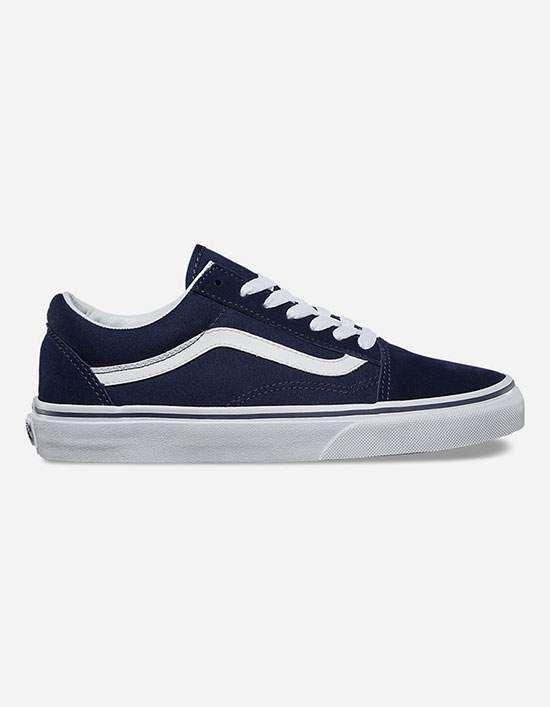 VANS Old Skool Womens Shoes - MDBLU