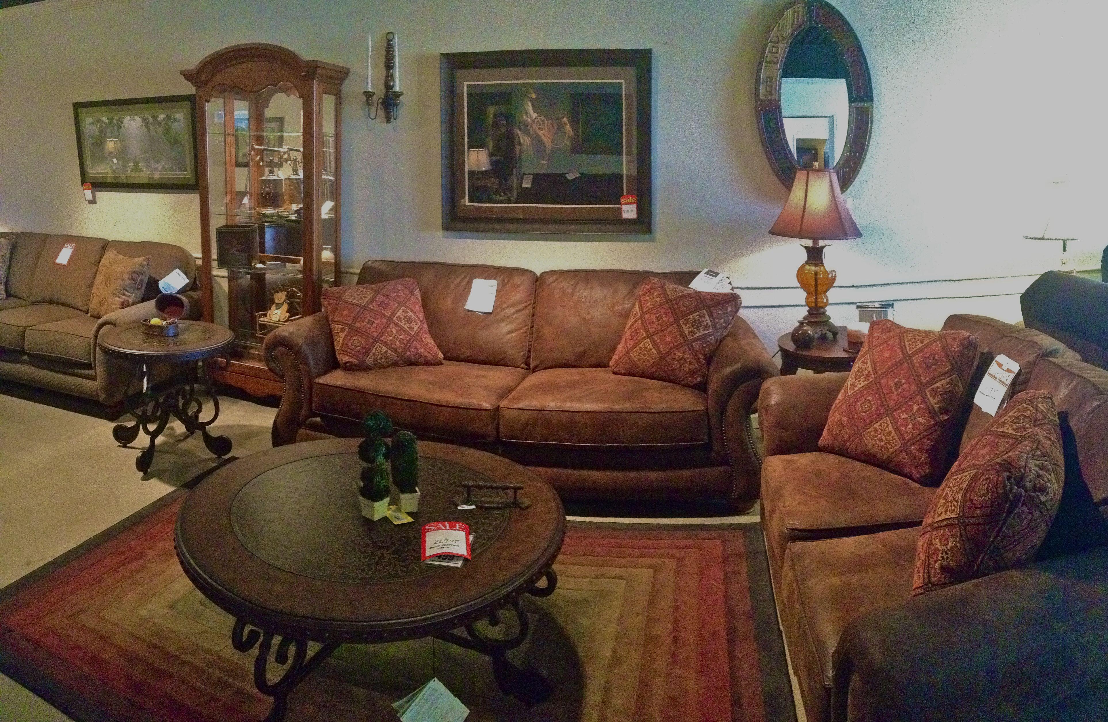 Western country cowboy folk art themed living room couches by western country cowboy folk art themed living room couches by broyhill rug from oriental weavers designed publicscrutiny Choice Image