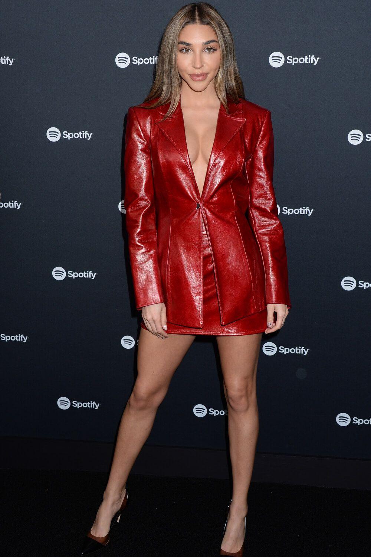 Chantel Jeffries attends Spotify Best New Artist 2020