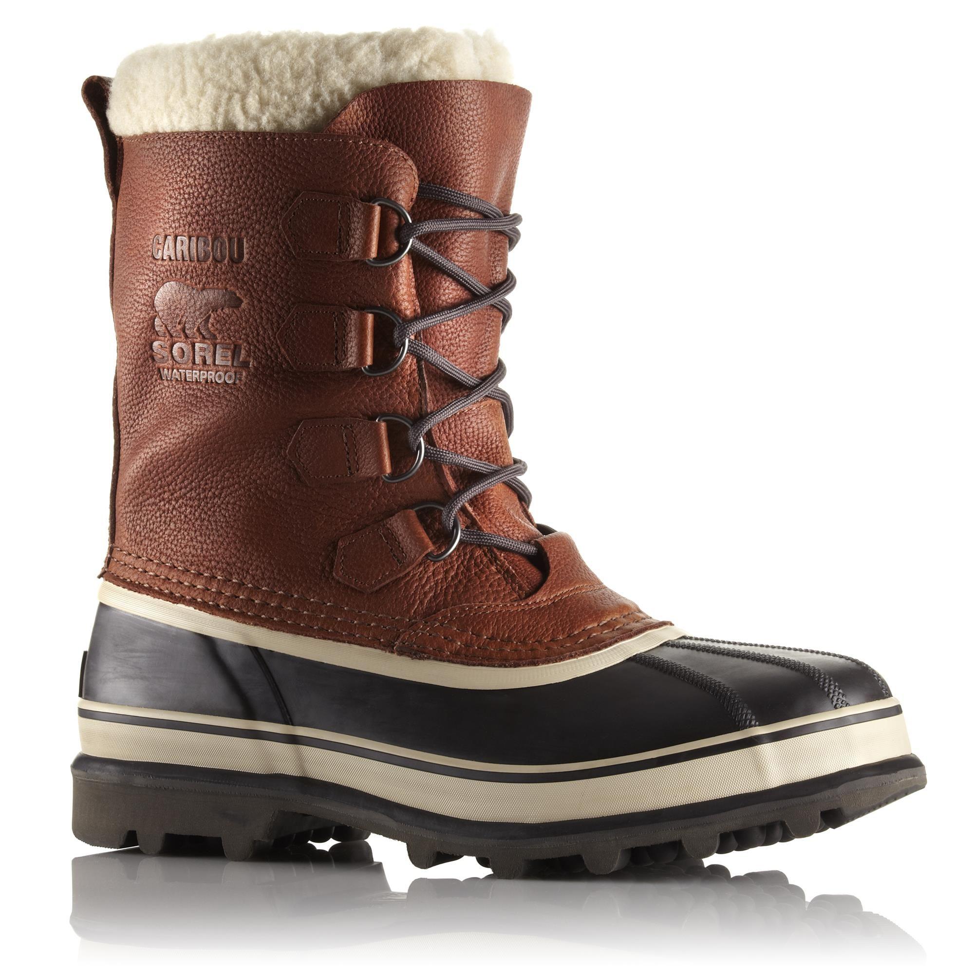 cf5bae8bc8f4d Xtend-Angebote Sorel Caribou Wool men Winterstiefel Herren braun Gr. 44,0 EU