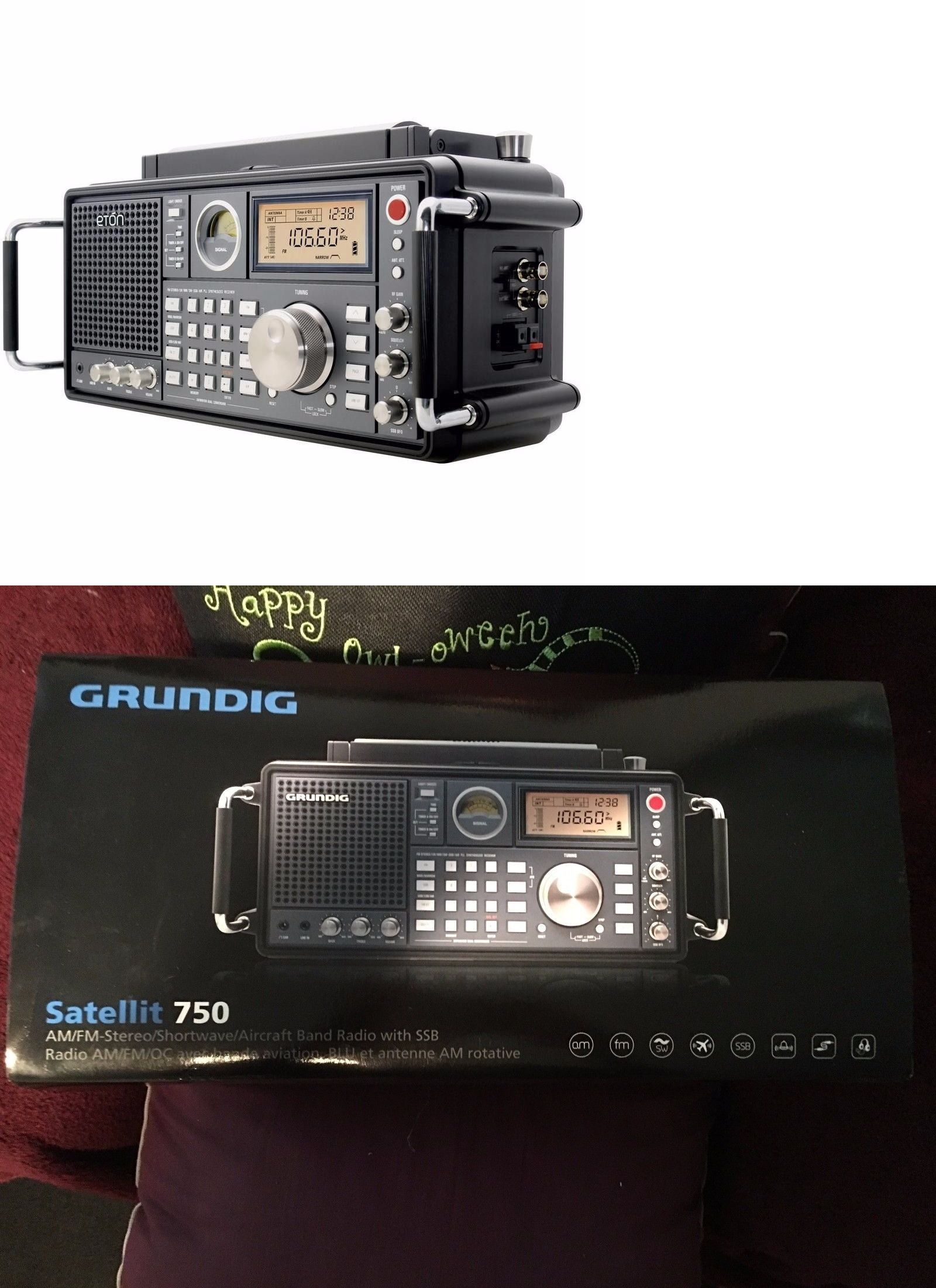 Ham Radio Receivers: Eton Grundig Satellit 750 Am Fm-Stereo