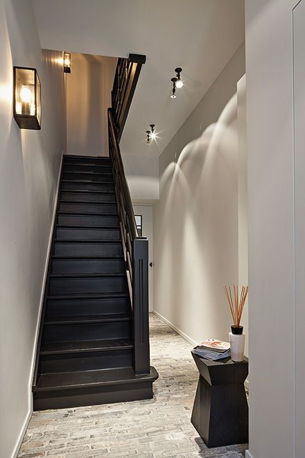 Merveilleux 27 Painted Staircase Ideas Which Make Your Stairs Look New Tags: Painted  Staircase, Painted Plywood Stairs, Painted Stairs Black, Painted Stairs  Ideas ...