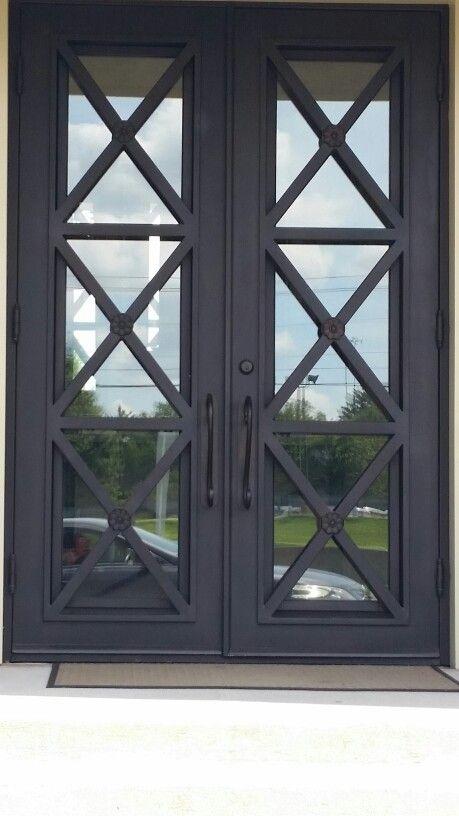 Love This Door Front Door Inspiration Exterior Front Doors Iron Front Door