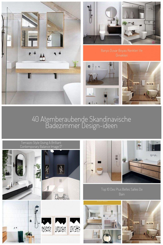 40 Atemberaubende Skandinavische Badezimmer Design Ideen Badezimmer Skandinavisch In 2020