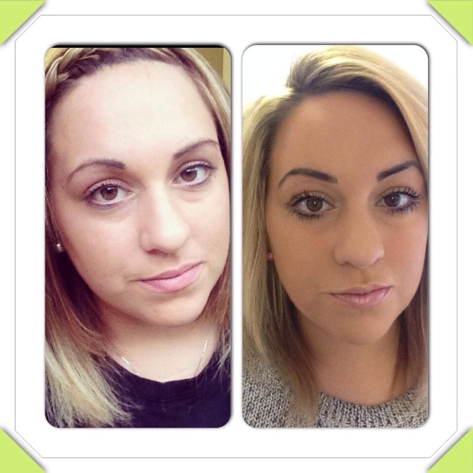 Before and after powder brows | Permanent eyebrows, Eyebrows