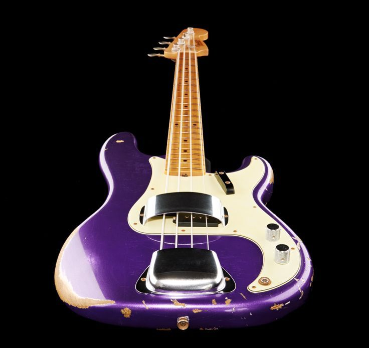 Image result for Metallic Purple painted P Bass guitar