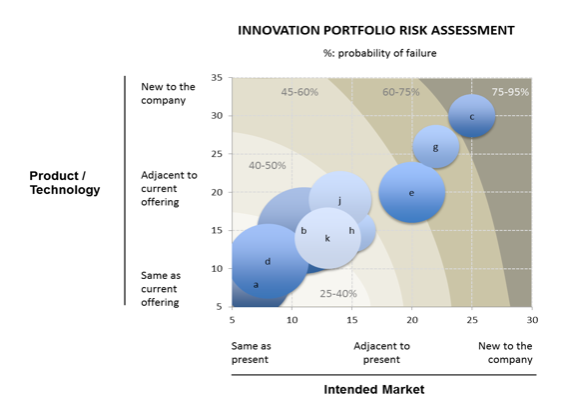 Innovation Portfolio Risk Assessment  Product Marketing