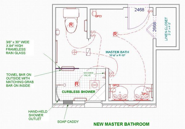 Floor Plan Layout Large Shower Bathroom Bathroom Floor Plans 6 X 12 Smart Bathroom Floor Plan Master Bathroom Plans Bathroom Floor Plans Bathroom Flooring