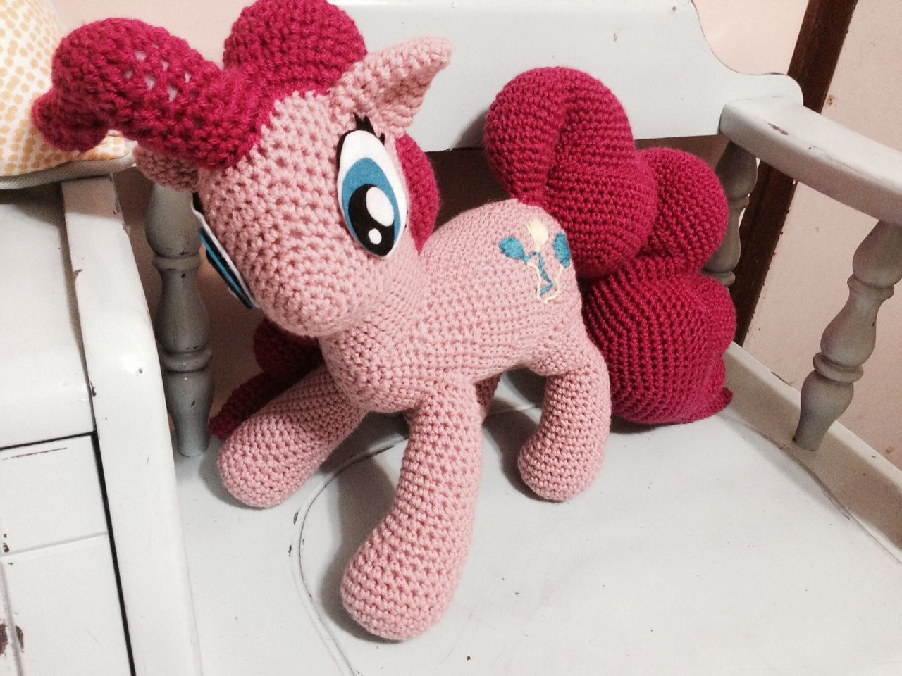 Ravelry: Pinkie Pie from My Little Pony by The Nerdy Knitter
