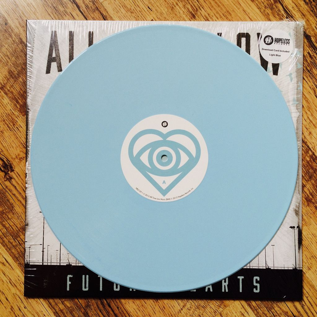 All Time Low Future Hearts Ltd Edition Baby Blue Vinyl Lp Future Hearts Blue Vinyl All Time Low