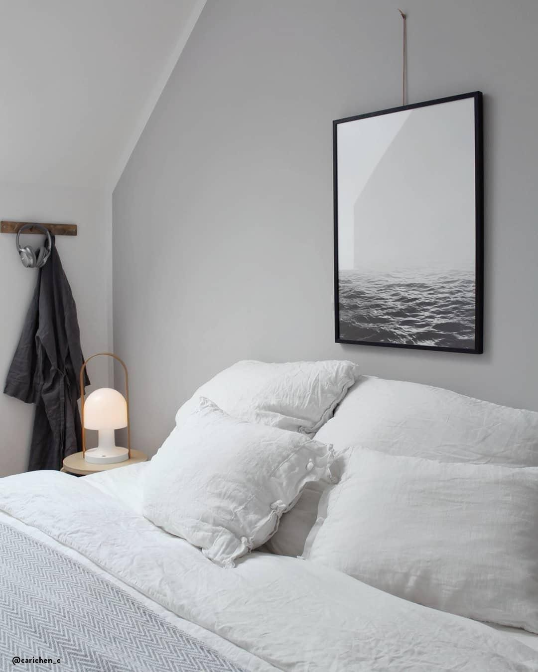 Schlafzimmer Design Blau Jersey - Attraktives Wohndesign