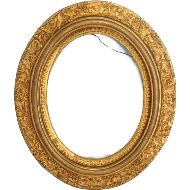 Victorian Oval Picture Frame Antique Gilded | SHOPPING 4 EVERYONE ...