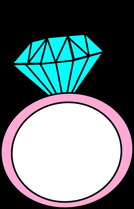 Imagen Gratis En Pixabay Anillo Dibujos Animados Diamante Clipart Dibujos Anillo Dibujo