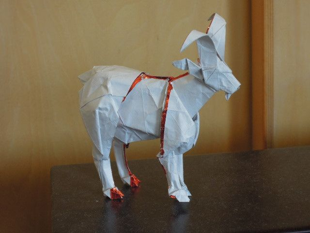 Goat Goats Origami And Origami Art