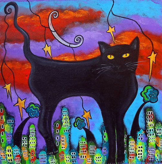 Great colors--Cats Rule by Juli Cady Ryan