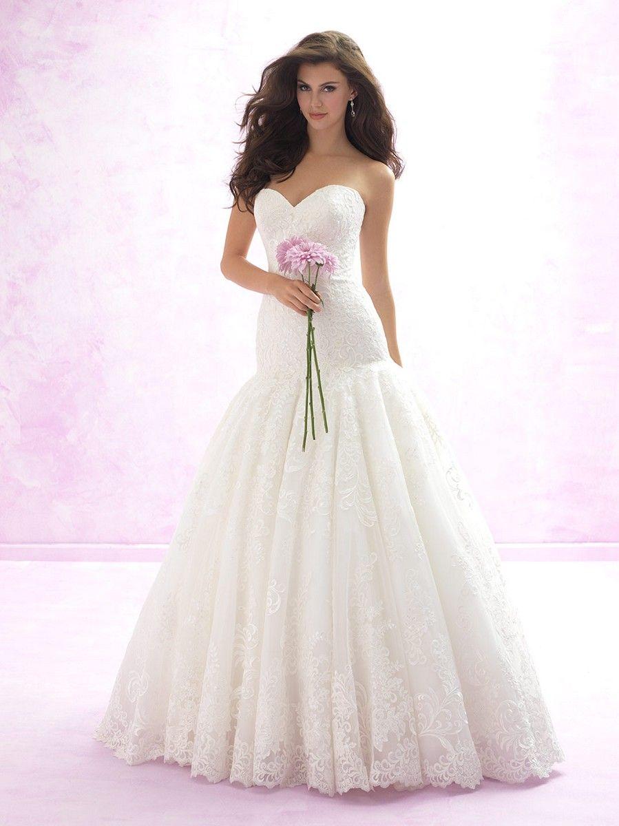 Bold and beautiful this madison james mj wedding dress will