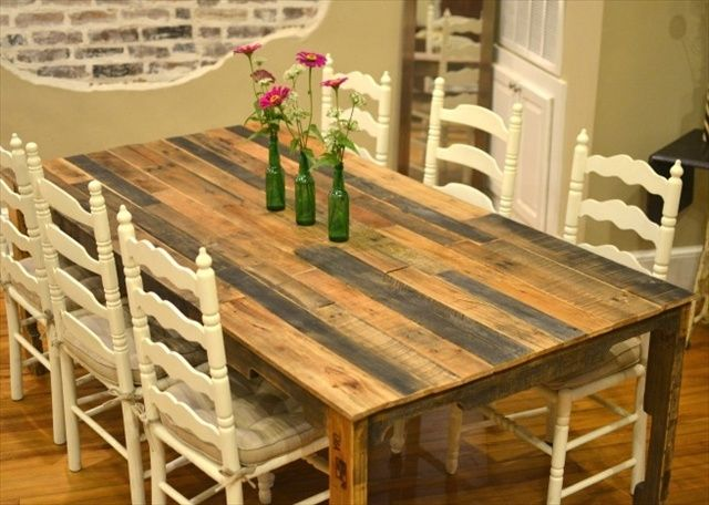 11 Diy Dining Tables To Dine In Style Pallet Dining Table Diy