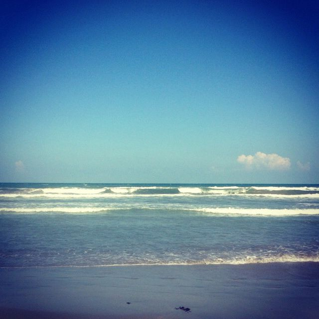 Mustang Island Beach: Mustang Island. I Just Wanna Watch The Tide, Sip On