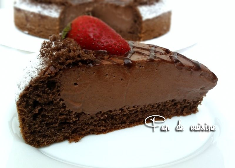 Gâteau au flan كيكة باردة بالفلان