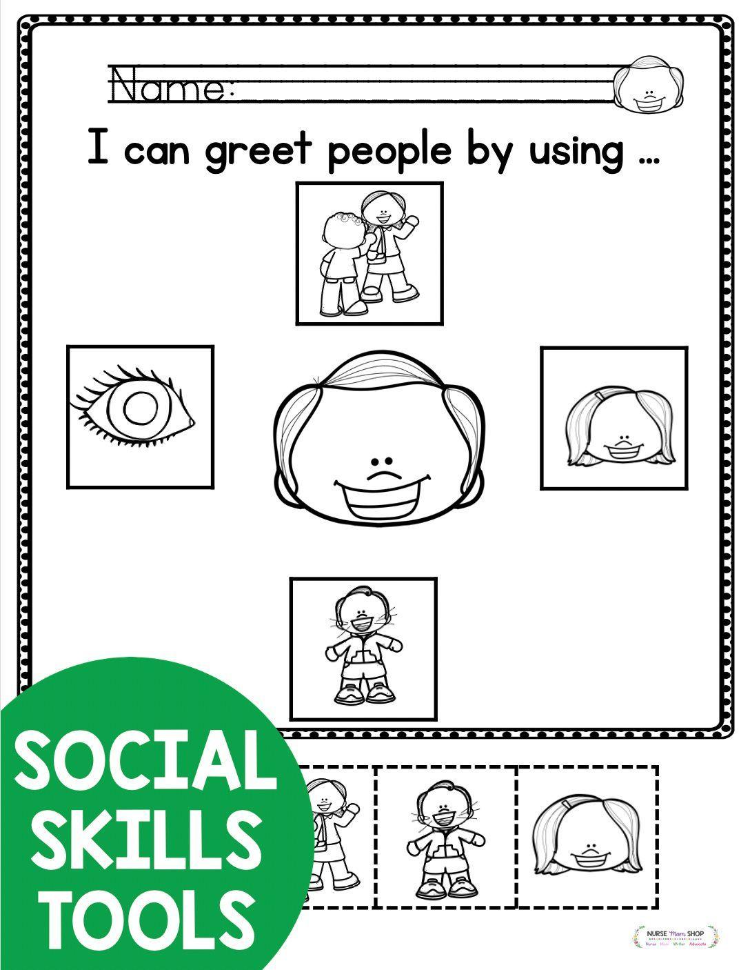 Social Skills For Kids In