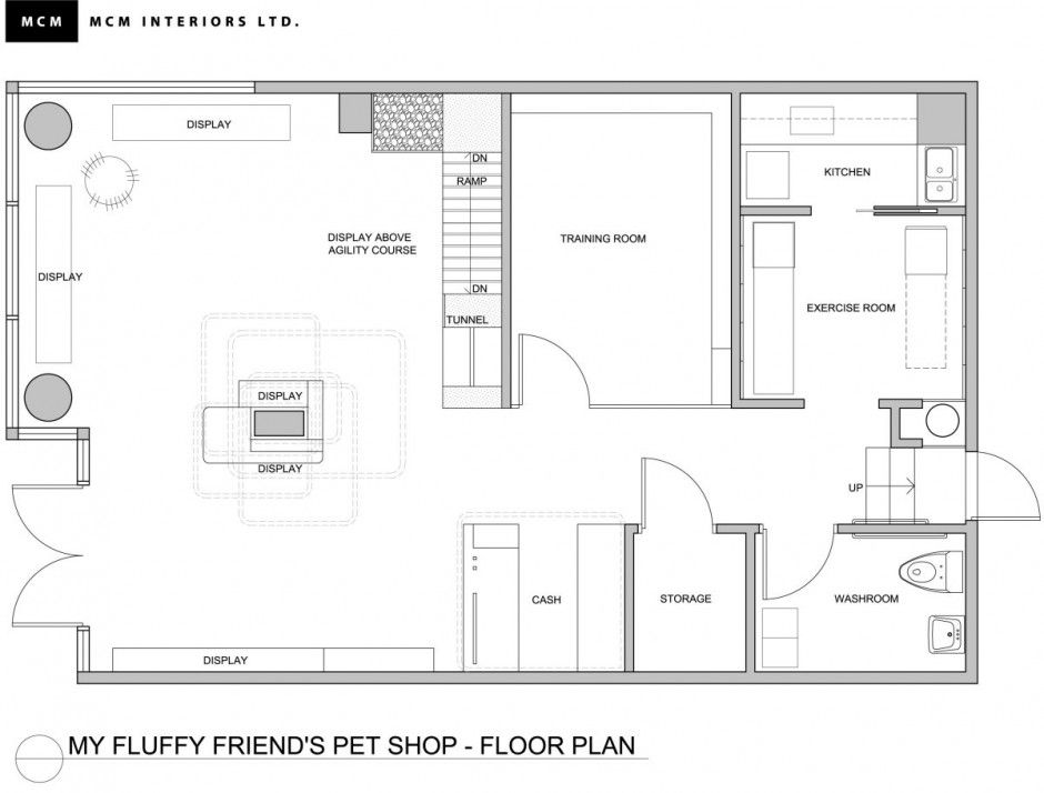 Pe 260213 05 Contemporist Pet Store Design Store Layout Layout Design