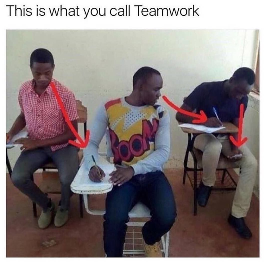 The Real Definition Of Team Work Funny Quotes Funny Memes Funny Jokes