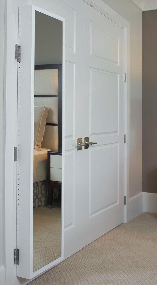 Amazon.com   Door Mirror Full Length Mirror For Door Behind Door Storage  Cabinet