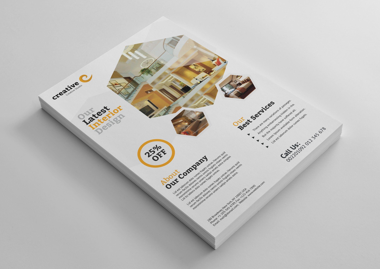 Modern Architecture Professional Flyer Template Graphic Templates Flyer Template Flyer Corporate Flyer