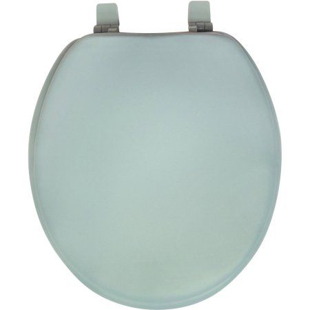 Mainstays 17 inch Soft Toilet Seat, Blue