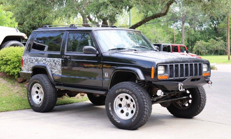 Custom XJ 2000 Black Jeep Cherokee 7995 Jeep, Jeep xj