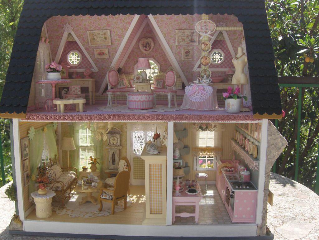 Pin De Kerryann Me En Doll House Miniaturas Casas De Muñecas Casitas De Muñecas