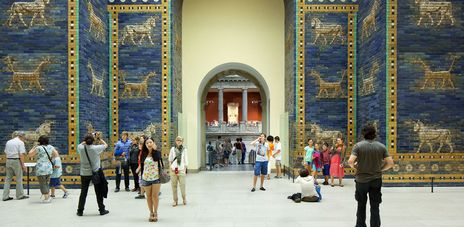 Berlin Pergamon Museum Bode Museum Museum Museum Insel