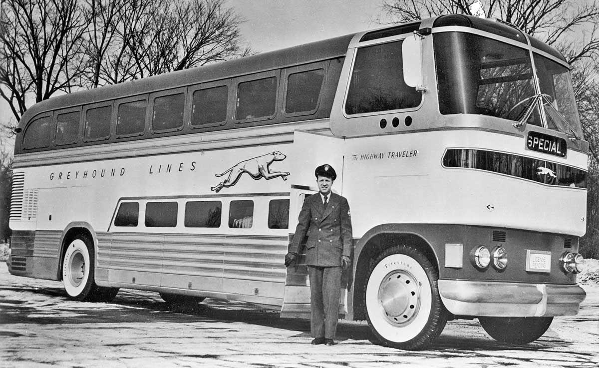 GX-1 double-decker greyhound bus 1947   Nostalgia   Retro ...