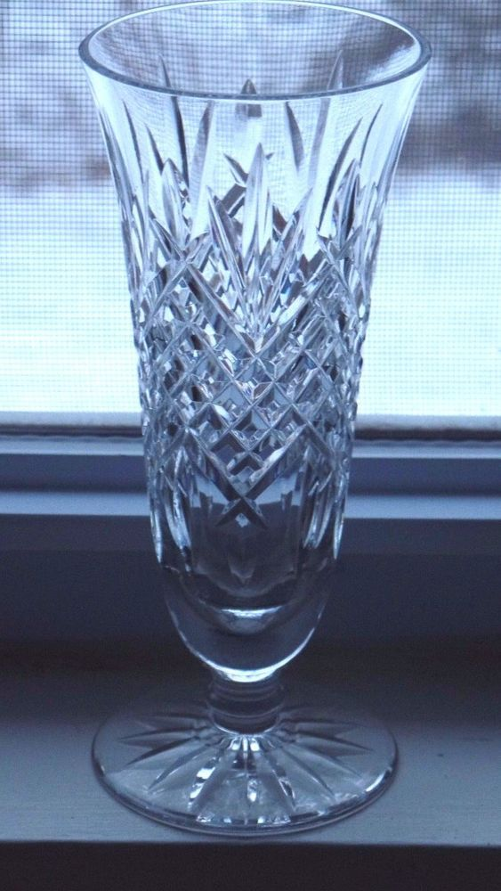 Waterford Crystal 7 Ashbourne Vase Ebay Waterford Crystal