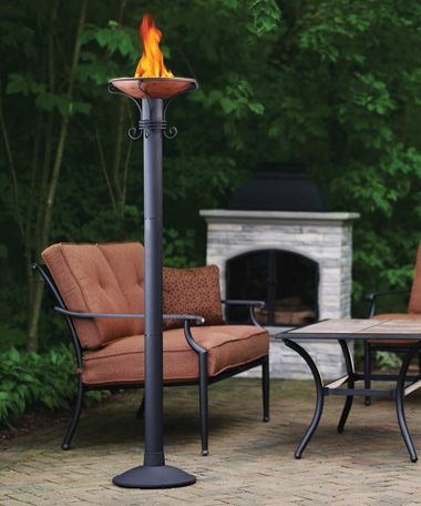 Captivating PATIO TORCHES