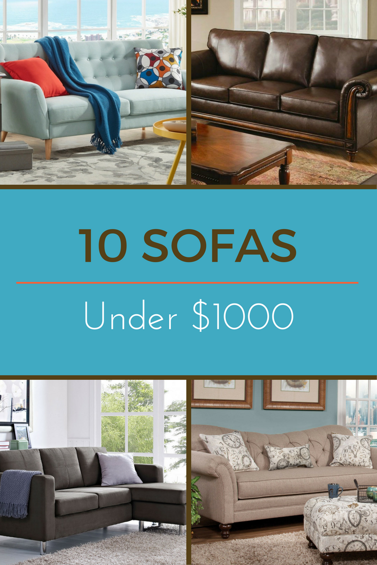 Editors Picks 10 Favorite Sofas Under 1 000 Affordable Sofa