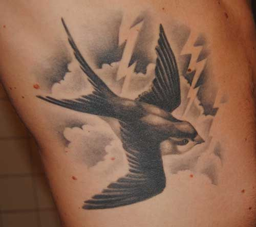 Sparrow Tattoos For Men Ideas And Inspiration For Guys Geometric Tattoo Bird Swallow Tattoo Swallow Tattoo Design