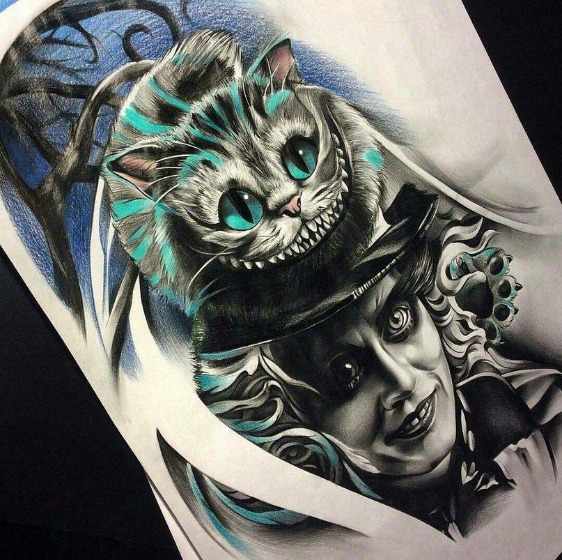 Pin De Erick Bezerra Em Tattoos Tatuagens Alice Tatuagem Das