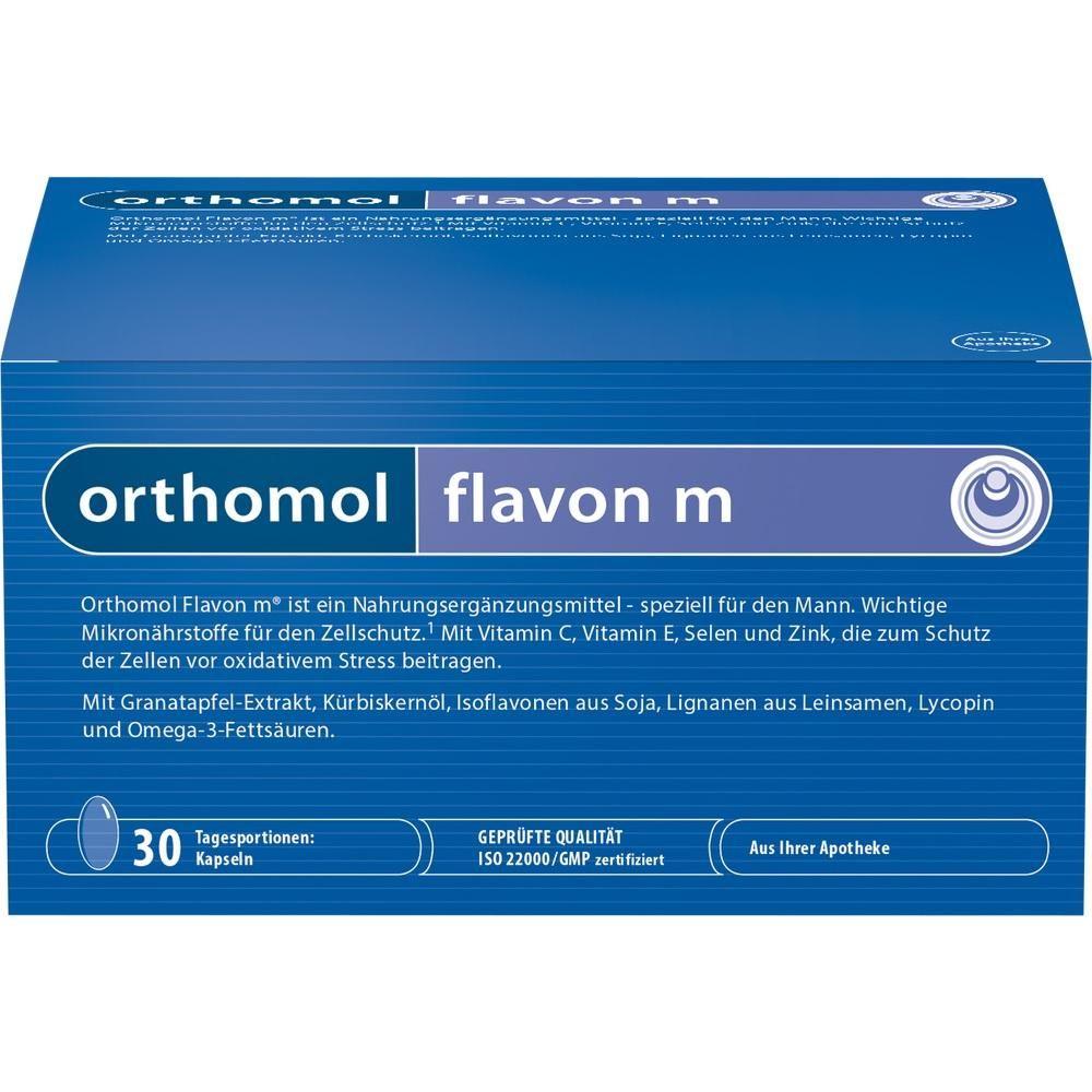 ORTHOMOL Flavon M Kapseln:   Packungsinhalt: 30X2 St Kapseln PZN: 00890293 Hersteller: Orthomol pharmazeutische Vertriebs GmbH Preis:…